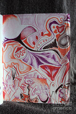 Fading Drawing - Untitled by Euboea Brown