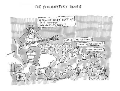 The Participatory Blues Art Print