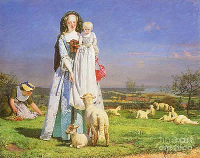 Victorian Art Piece Art Print by Indian Summer