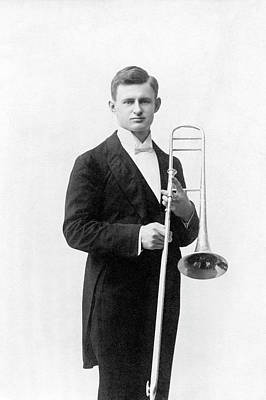 Trombone Photograph - William Meggers by Emilio Segre Visual Archives/american Institute Of Physics