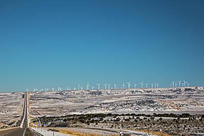 Wind Farm Art Print by Jim West