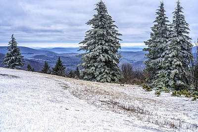 Winter Solstice Photograph - Winter Along The Highland Scenic Highway by Thomas R Fletcher