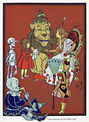 Wizard Of Oz, 1900 Art Print by Granger
