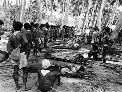 Photograph - World War II New Guinea by Granger