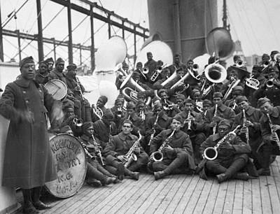Sousaphone Photograph - Wwi Homecoming, 1919 by Granger