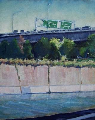 110 Freeway South Art Print