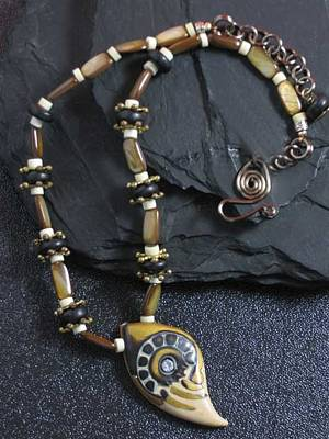Jewelry - 1101 Wheels In The Sand by Dianne Brooks