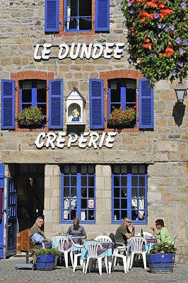 Creperie Photograph - 110202p075 by Arterra Picture Library