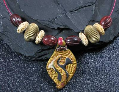 Jewelry - 1109 Bird Totem by Dianne Brooks