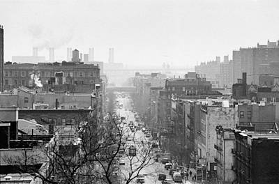 Photograph - 110th Street Manhattan by Dave Beckerman