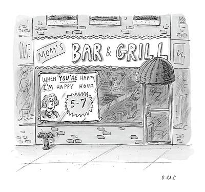New Yorker May 15th, 2006 Art Print by Roz Chast