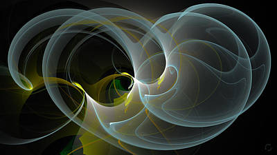Generative Digital Art - 1121 by Lar Matre