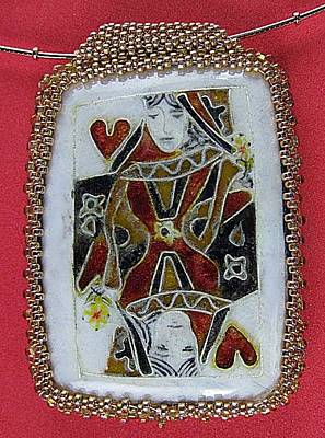 Jewelry - 1129 Queen Of Hearts by Dianne Brooks