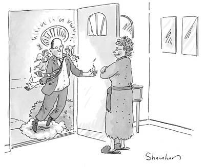 New Yorker June 1st, 2009 Art Print by Danny Shanahan