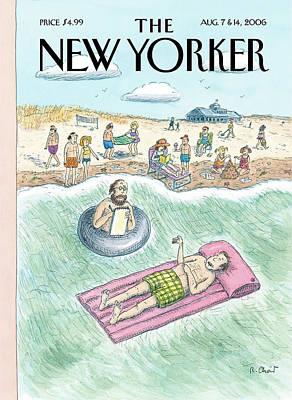 Psychiatry Painting - New Yorker August 7th, 2006 by Roz Chast