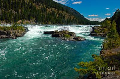 Photograph - 1140a Kootenai Falls by NightVisions