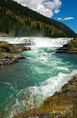 Photograph - 1142a Kootenai Falls by NightVisions