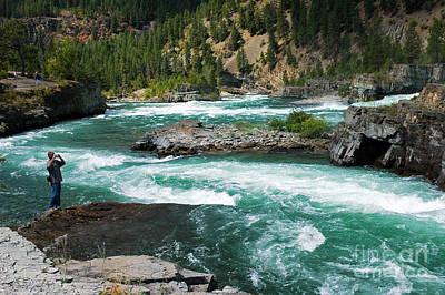 Photograph - 1152a Kootenai Falls by NightVisions