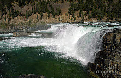 Photograph - 1154a Kootenai Falls by NightVisions