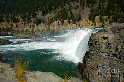 Photograph - 1156a Kootenai Falls by NightVisions