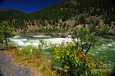 Photograph - 1158a Kootenai Falls by NightVisions