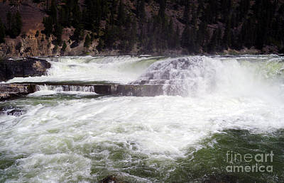Photograph - 1159a Kootenai Falls by NightVisions