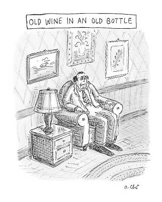 Sour Drawing - New Yorker June 2nd, 2008 by Roz Chast