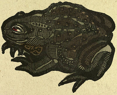 Toads Drawing - Illustration Of English Tales Folk Tales And Ballads by English School