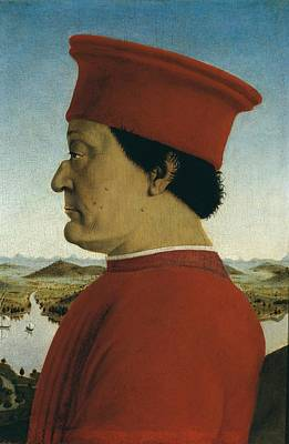 Red Hat Society Photograph - Italy, Tuscany, Florence, Uffizi by Everett