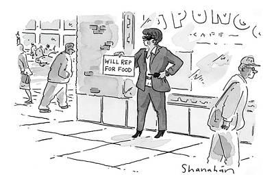 New Yorker April 24th, 2000 Art Print