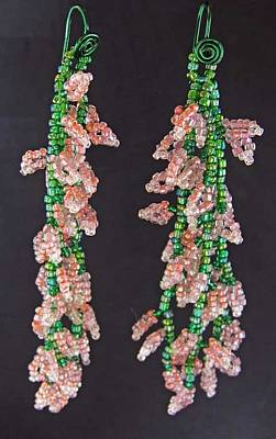 Jewelry - 1192 Cascading Vines by Dianne Brooks