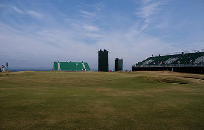 11th Green Photograph - 11th Green At Muirfield by Keith Thorburn LRPS