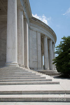 Jefferson Memorial Digital Art -  Thomas Jefferson Memorial by Carol Ailles