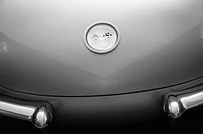1960 Photograph - 1960 Chevrolet Corvette Emblem by Jill Reger