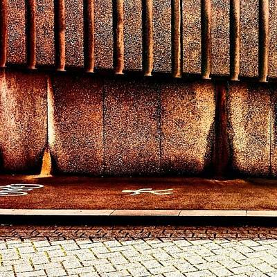 Abstract Wall Art - Photograph - Urban Wall B by Jason Michael Roust