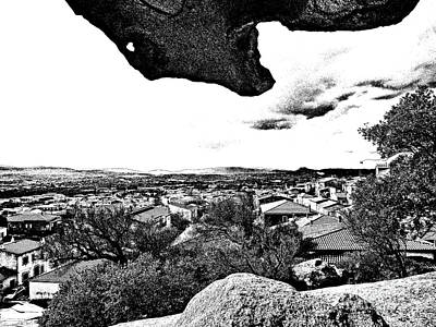 Arzachena Landscape Art Print