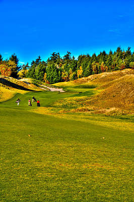 Landscapes Kadek Susanto - #12 at Chambers Bay Golf Course - Location of the 2015 U.S. Open Tournament by David Patterson