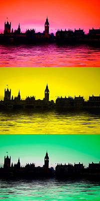 London Skyline Royalty-Free and Rights-Managed Images - Big Ben and the houses of Parliament  by David French