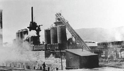 Oven Photograph - Blast Furnace by Hagley Museum And Archive