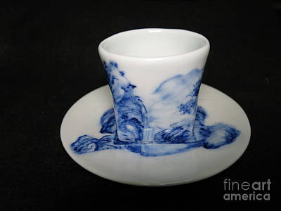 Ceramic Art - Blue And White Porcelain by Champion Chiang