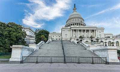 Photograph - Capitol Building by Peter Lakomy