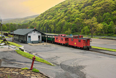 Photograph - Cass Scenic Railroad by Mary Almond