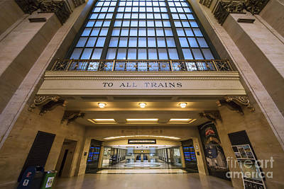 Chicago's Union Station Art Print by Twenty Two North Photography