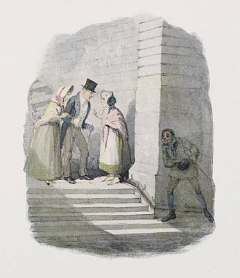 Cruikshank's Water Colours Art Print by British Library