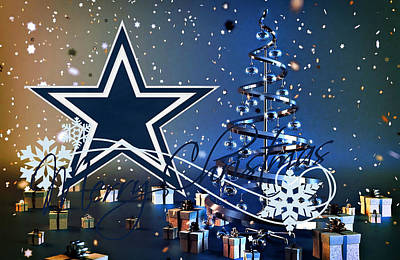 Greetings Card Photograph - Dallas Cowboys by Joe Hamilton