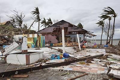 Destruction Photograph - Destruction After Super Typhoon Haiyan by Jim Edds