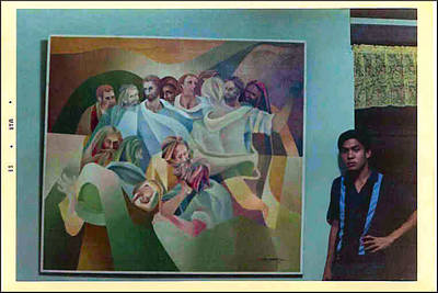 Photograph - 12 Disciples And Glenn 1968 by Glenn Bautista