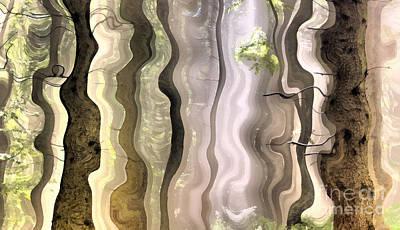 Dream Forest Art Print by Odon Czintos