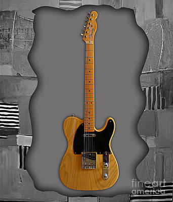 Fender Mixed Media - Fender Telecaster Collection by Marvin Blaine