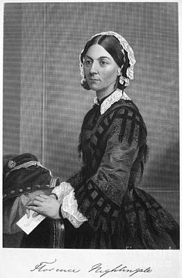 Florence Nightingale Art Print by Granger